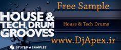 سمپل House and Tech Drum